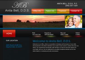 AnitaBellDDS.com - portfolio thumbnail