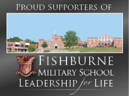 Proud Supporter of Fishburne Military School